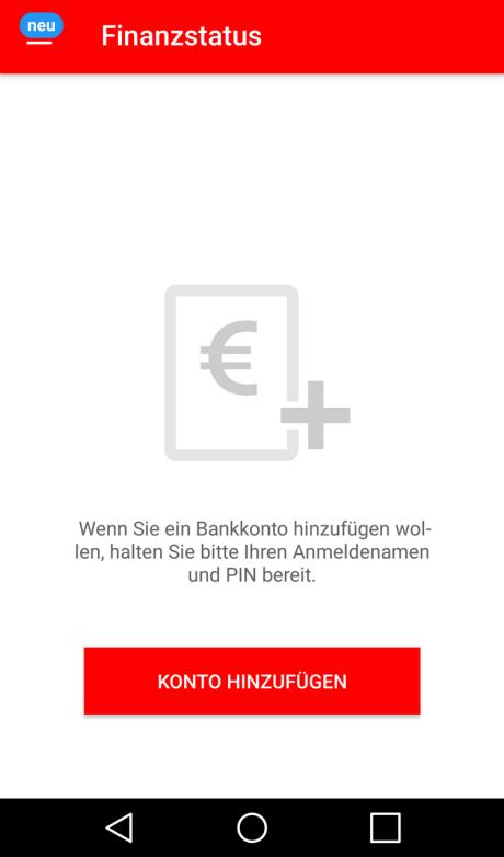 Android: Anleitung für die Einrichtung der Sparkassen-App