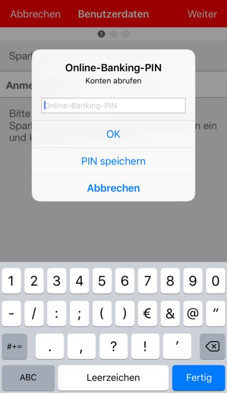 iOS: Anleitung für die Einrichtung der Sparkassen-App  Sparkasse