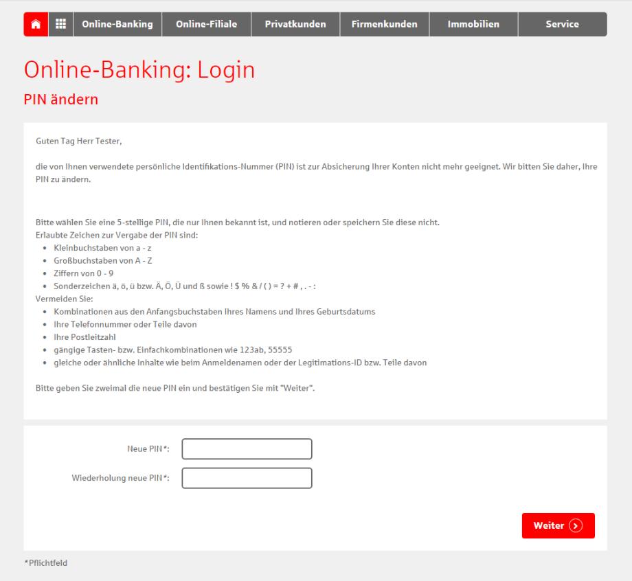 Sparkasse Online Banking Pin Ändern