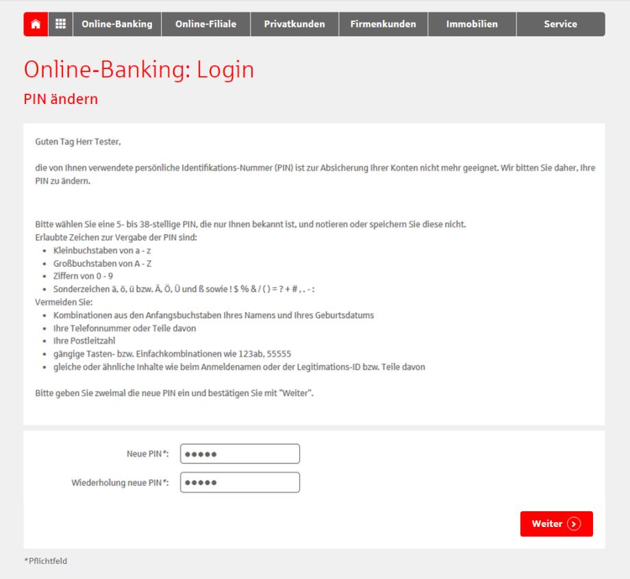 Anleitung Erstmaliger Login Ins Online Banking Sparkasse Langen Seligenstadt